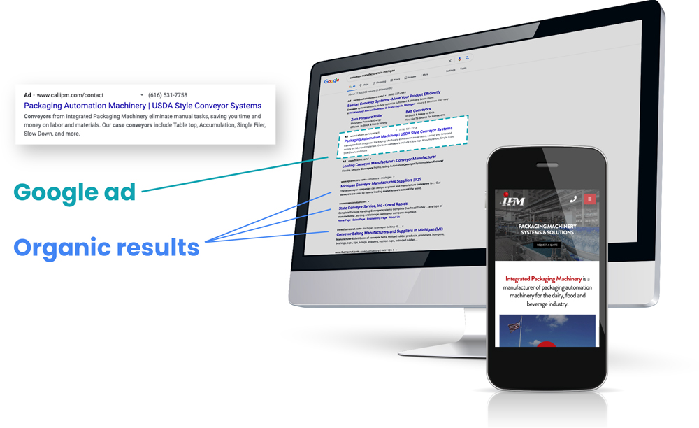 Google PPC Advertising Grand Rapids